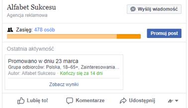 Kampanie reklamowe facebook