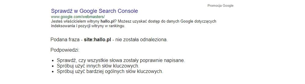 Google wyszukiwarka nie dla wszystkich